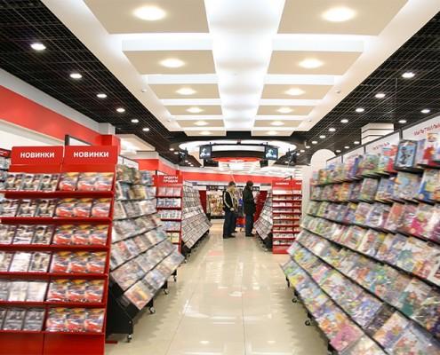 Vidéosurveillance Supermarché