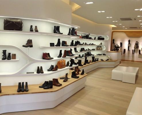 Vidéosurveillance magasin de chaussures